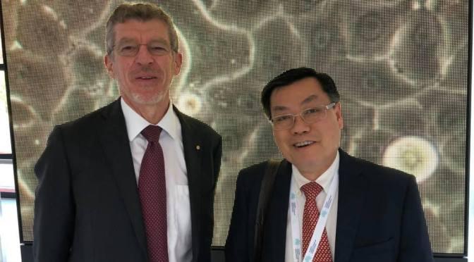 """Lời cám ơn nhân dịp được """"inducted"""" vào Viện hàn lâm y học Úc"""