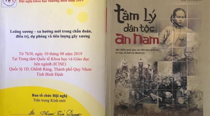 """Đọc sách """"Tâm lí dân tộc An Nam"""""""