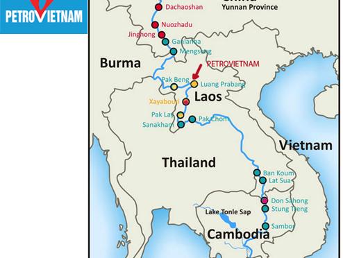 Với dự án Luang Prabang: từ 2007 Việt Nam đã quy hàng chiến lược thủy điện của Lào