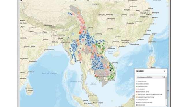 Điện mặt trời Nam Ngum có thể thay thế Thủy điện trên dòng Mekong ở Lào?